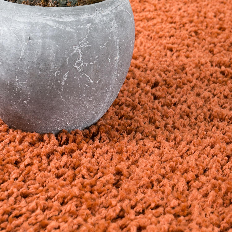 Shaggy Teppich Hochflor Langflor Teppiche Wohnzimmer: Teppich Hochflor Shaggy Teppiche Langflor Kupfer