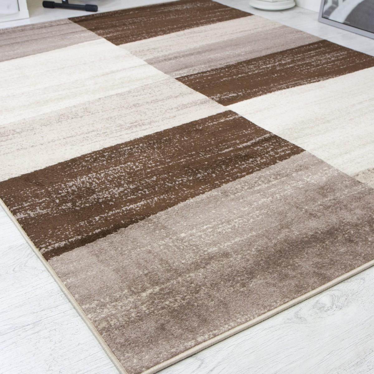 moderner designer wohnzimmer teppich geometrisches muster meliert verschiedene farben r9119 - Teppich Geometrisches Muster