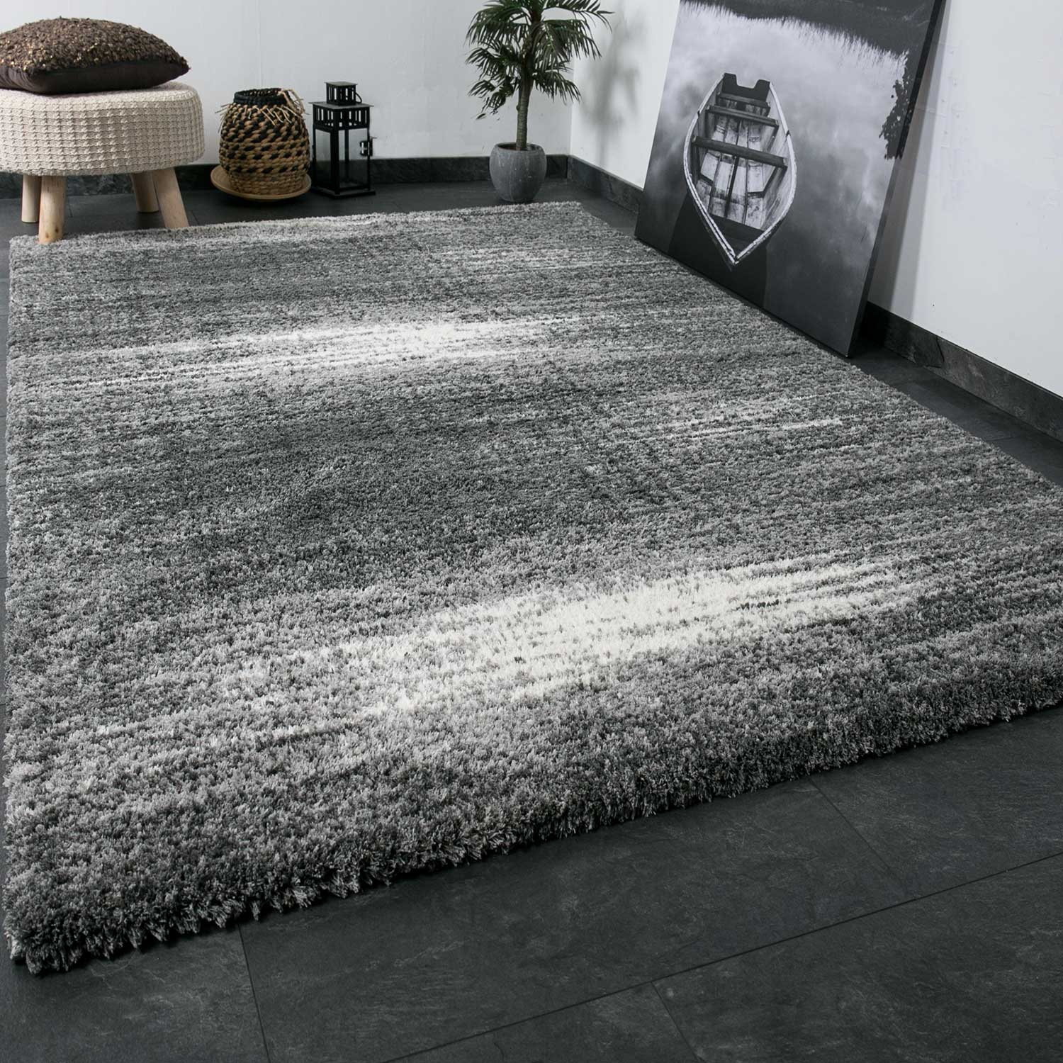 shaggy teppich extra flauschig dicht gewebt hochflor farbe. Black Bedroom Furniture Sets. Home Design Ideas