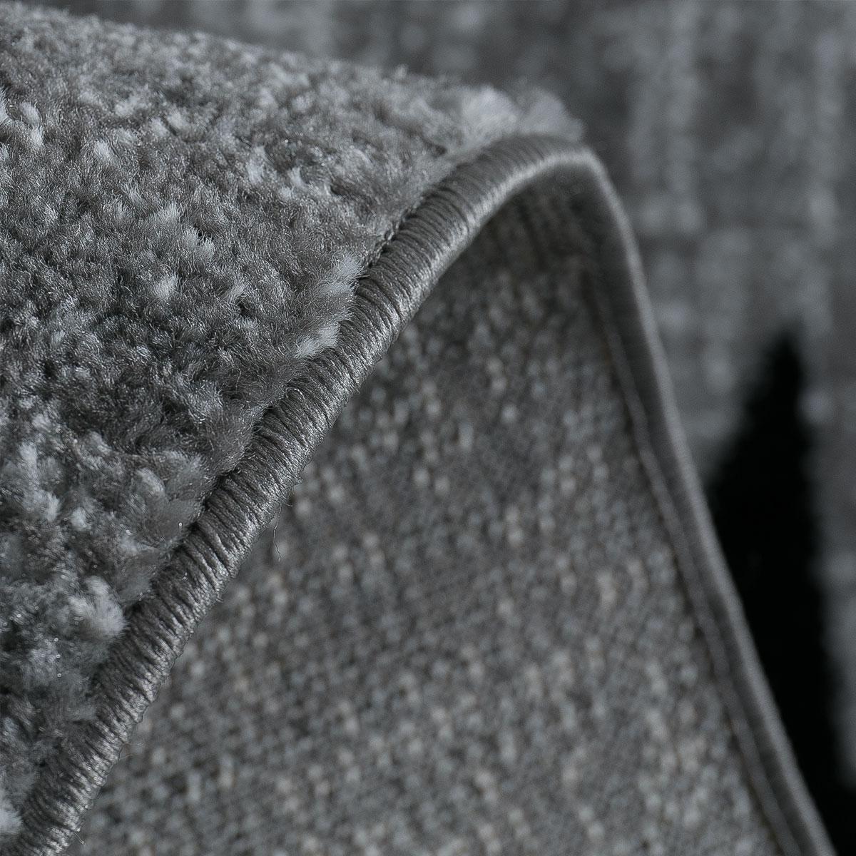 teppich modern jugendstil grau lila wei schwarz kurzflor. Black Bedroom Furniture Sets. Home Design Ideas
