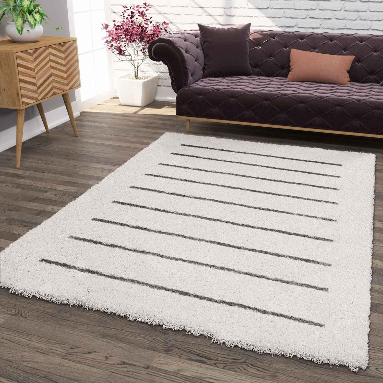 Prime Shaggy Rug High Pile Rug Carpet Livingroom Scandinavian ...