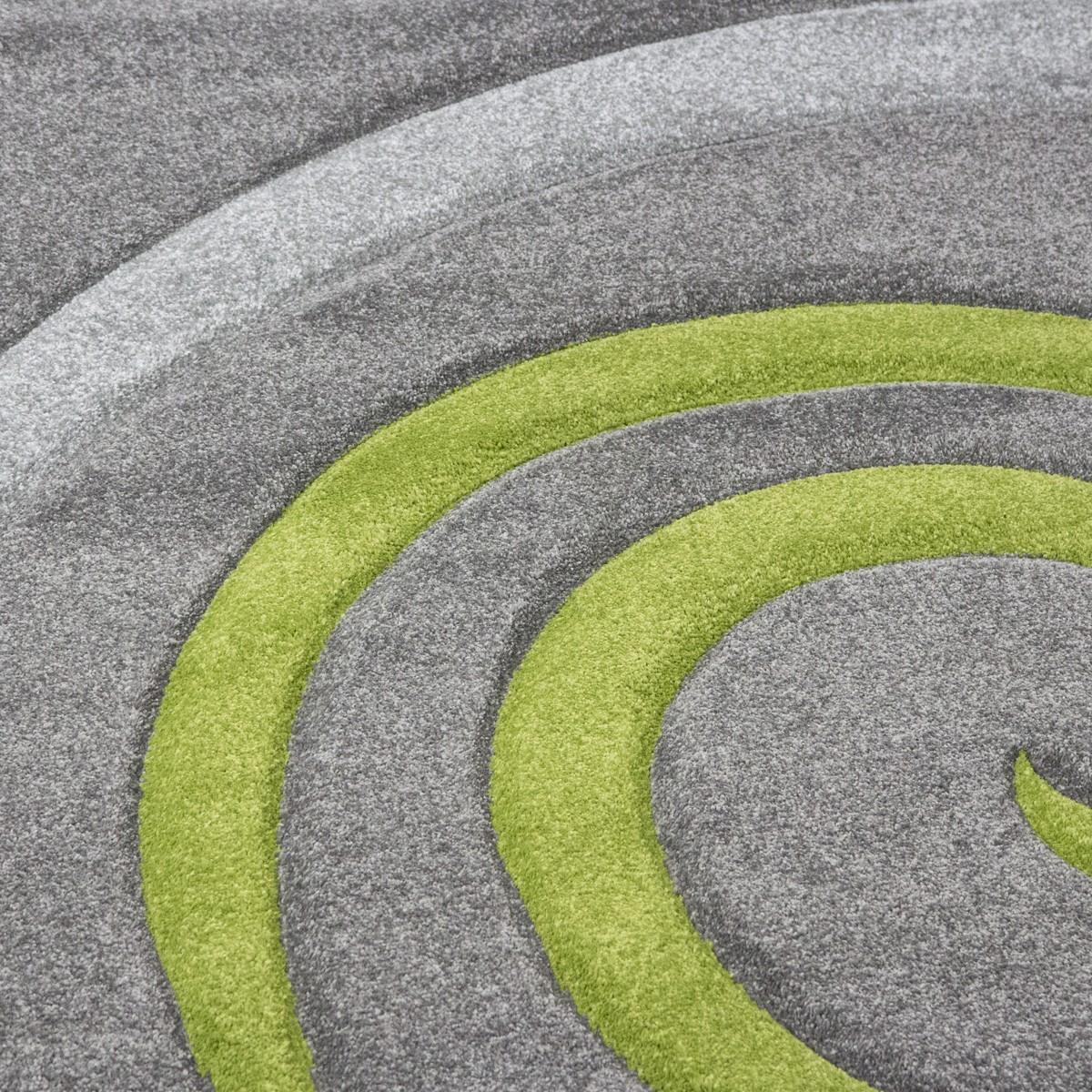 cascadapl6678 gr n kreisel konturenschnitt teppich ceres. Black Bedroom Furniture Sets. Home Design Ideas