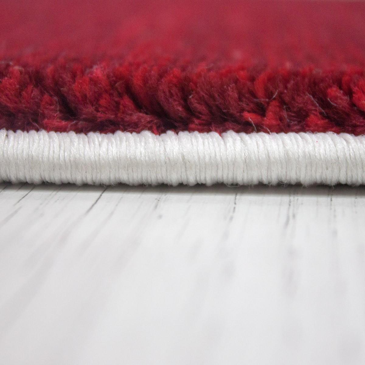 Teppich modern designer klassik kariert meliert in braun