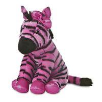 Aurora World Plüschtier Kuscheltier Destination Nation Pink Zebra 30 cm - Girls Only