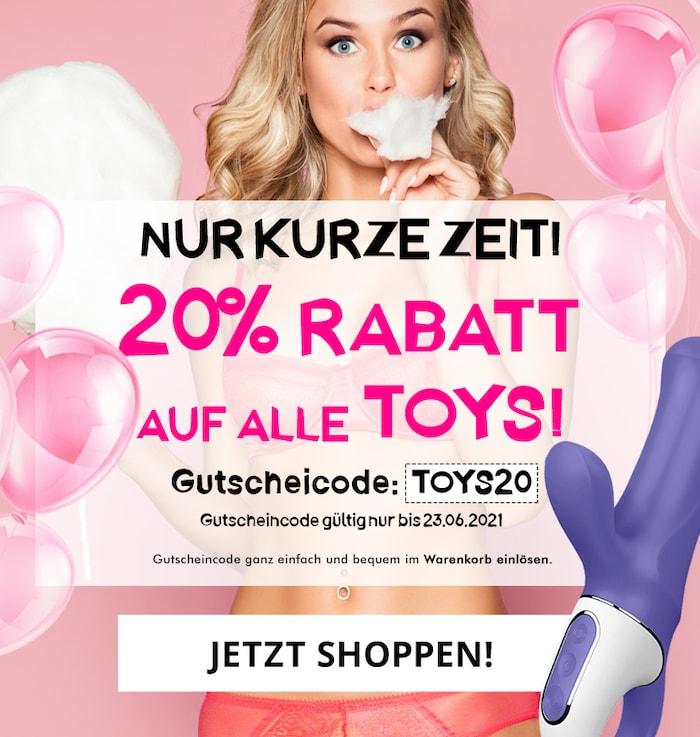 20% Rabatt auf alle Toys