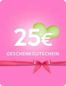 Zugeschnürt Shop - 25 Euro Geschenkgutschein