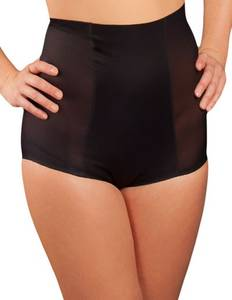 Magic Bodyfashion - Tummy Controll Brief - Taillen-Panty mit Schlankmach-Effekt schwarz oder hautfarben – Bild $_i
