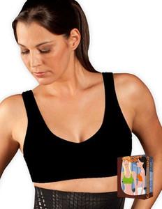 Magic Bodyfashion - Comfort Bra - Sport BH schwarz, weiß oder hautfarben – Bild $_i