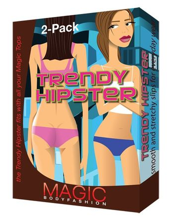Magic Bodyfashion - Trendy Hipster - Shape Höschen 2er Pack – Bild 2