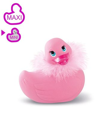 Big Teaze Toys - Vibro-Ente MINI PARIS - pink – Bild $_i