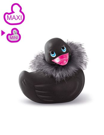 Big Teaze Toys - Vibro-Ente MINI PARIS - schwarz