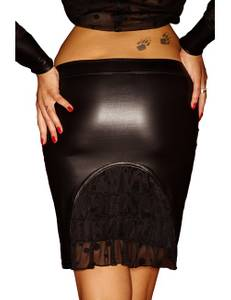 Noir Handmade - 7Sins - Wetlook-Rock Acedia in schwarz – Bild $_i