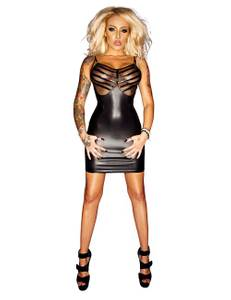 Noir Handmade - Good Girls Bad... - Wetlook Kleid F078 – Bild $_i