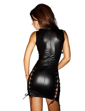 Noir Handmade - Good Girls Bad... - Wetlook Kleid F079 – Bild 1