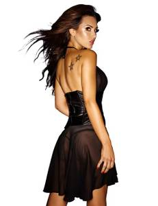 Noir Handmade - Good Girls Bad... - Chiffonkleid F088 – Bild 2
