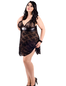 Andalea - Babydoll mit Spitze ADE2015