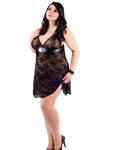 Andalea - Babydoll mit Spitze ADE2015 001