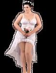 Andalea - Virgin weiß Negligee ADE2020 001