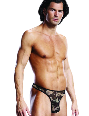 BLUE LINE - G-String in Camouflage Optik – Bild $_i
