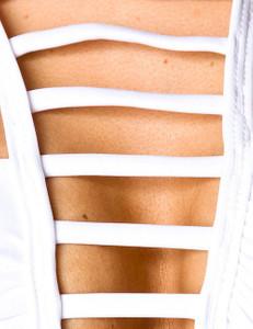 Zugeschnürt Shop - weißer Bikini – Bild $_i