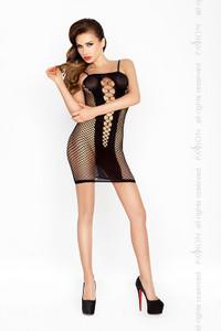 Passion - Minikleid in Netzoptik mit Cut Outs – Bild $_i