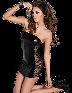Passion - Kleid Vena schwarz