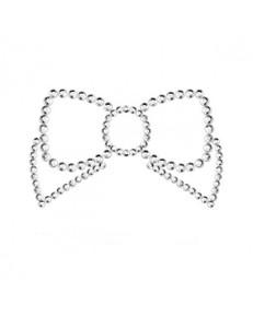 Bijoux Indiscrets - Nipple-Patch Mimi Bow Silber – Bild $_i