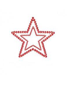 Bijoux Indiscrets - Nipple-Patch Mimi Star Rot – Bild $_i