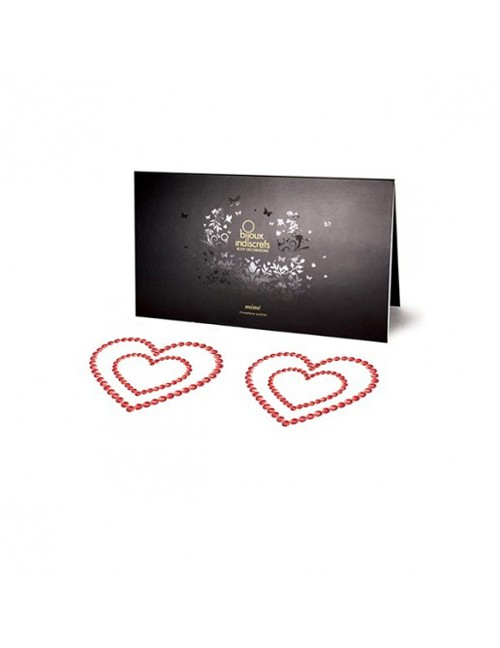 Bijoux Indiscrets - Nipple-Patch Mimi Heart Rot