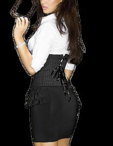 Chilirose - CR 3389 Schwarz Skirt – Bild $_i