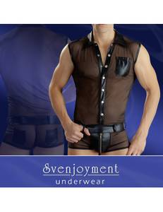 Svenjoyment - Body for Man aus Netz und Wetlook