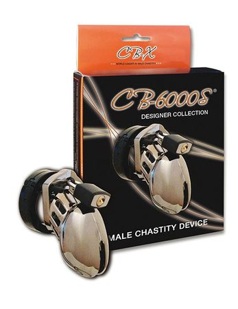 Male Chastity - CB-6000S chrome