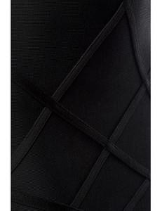 Zugeschnürt Shop - Bandage-Shape-Kleid schwarz – Bild $_i