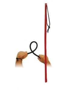 XXdreamSToys - Flexstock mit Lederüberzug rot