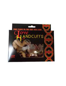 XXdreamSToys - Liebes - Handschellen mit Plüsch Leopard