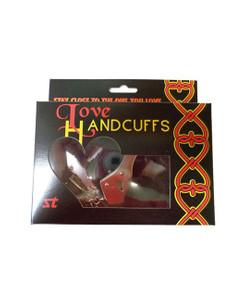 XXdreamSToys - Liebes - Handschellen mit Plüsch schwarz