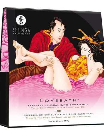 "Shunga - Lovebath ""Dragon Fruits"", 650g"