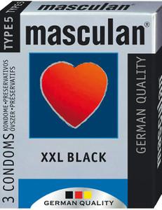 Masculan - XXL Black 3 St.