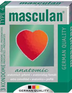 Masculan - Anatomic 3 St.