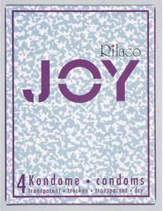 Rilaco - Joy (trocken) 4 St. Kondome