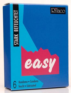 Rilaco - Easy 6 St. Kondome