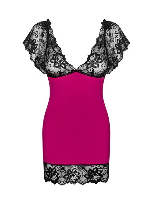 Obsessive - Imperia Chemise & String pink