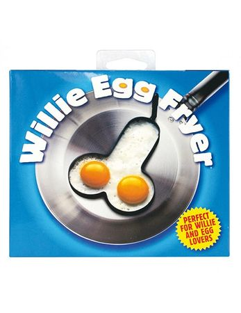 Willie Egg Fryer (Penis-Backform) | Zugeschnürt Shop