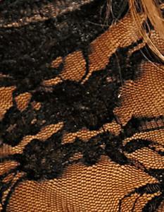 Noir Handmade - Minikleid aus zarter Spitze – Bild $_i