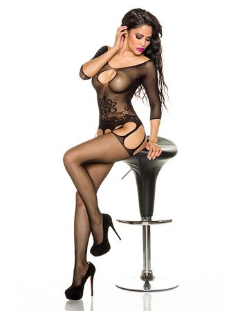 Bodystocking in Straps-Optik,