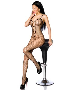 Beauty's Love - Bodystocking aus Netz schwarz – Bild $_i