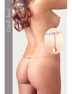 Cottelli Collection - Bikinikette Perle silber