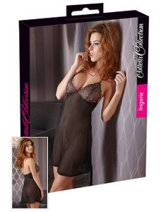 Cottelli Collection - Neglige schwarz
