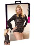 Cottelli Collection - Spitzenbody schwarz 001
