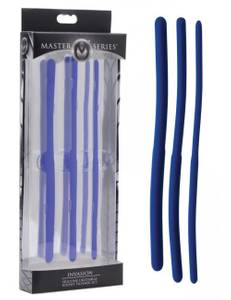 Master Series - Silicone Invasion Urethral Sound Trainer irrigator Set